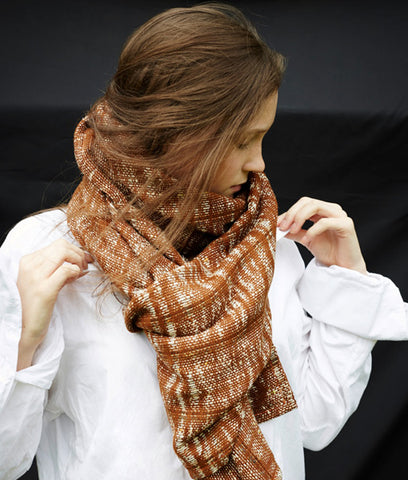 Christmas gift ideas Stable brown scarf