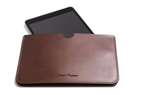 Christmas craft gift ideas iPad mini leather case