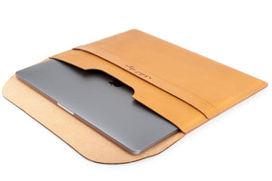 Personalized Document / Macbook Folio Tan