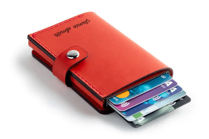 RFID Wallet Red cards