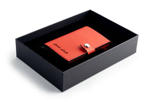 RFID Wallet Red open giftbox
