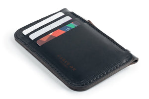 Zip Card Wallet Black Cards