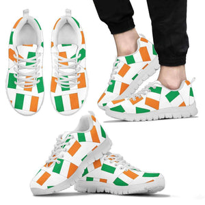 IRISH PRIDE! - IRELAND - Men's Sneaker - White BG
