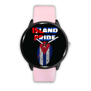 Cuba Custom Watch/Multi-Color Bands - Island Pride Prints