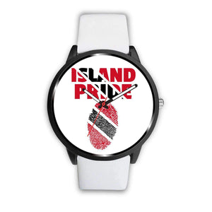 Trinidad &Tobago Custom Watch/Multi-Color Band - Island Pride Prints