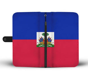 Haiti Flag Wallet Phone Case - Island Pride Prints