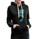 Pray For Bahamas Women's Premium Hoodie - charcoal gray
