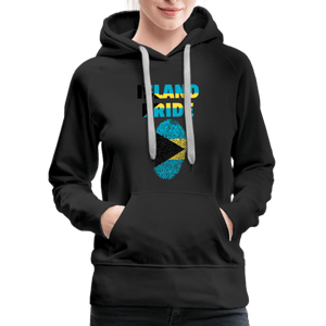 Pray For Bahamas Women's Premium Hoodie - black