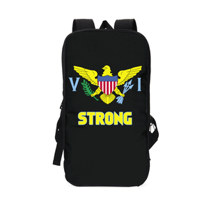 US Virgin Island Strong Slim Tech Backpack V.1