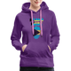 Pray For Bahamas Women's Premium Hoodie - purple