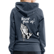 Pray For Bahamas Women's Premium Hoodie - heather denim