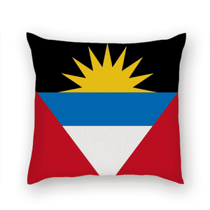 Antigua Pride Multi-sized Premium Linen Throw Square Pillow Covers High Elastic Polypropylene Cotton Insert - Island Pride Prints