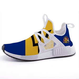 Barbados Pride Lightweight fashion sneakers casual sports shoes - Island Pride Prints