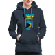 Pray For Bahamas Women's Premium Hoodie - navy