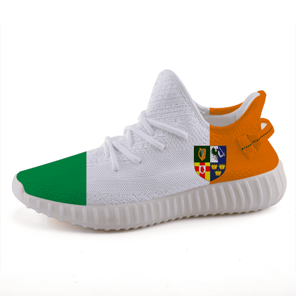 pretty nice 6d824 90ff8 Ireland Pride Lightweight Yeezy Style sneakers casual sports shoes