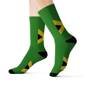 Jamaica Pride Sublimation Socks