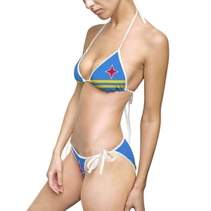 Aruba Flag Women's Bikini Swimsuit - Island Pride Prints