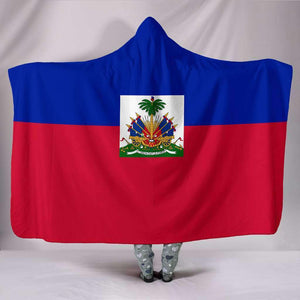 Haiti Pride Hooded Blanket - Island Pride Prints