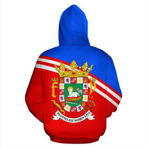Puerto Rico All Over Hoodie V.1