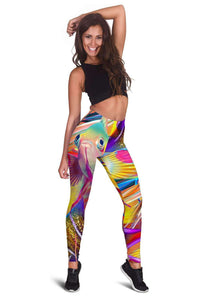 Fish Frenzy Women's Leggings - Island Pride Prints