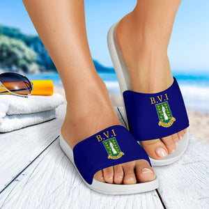British Virgin Islands Slide Sandals V2