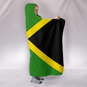 Jamaica Pride Hooded Blanket