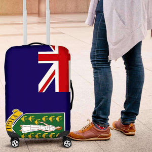 British Virgin Islands Luggage Cover - Island Pride Prints