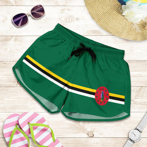 Dominica Pride Women's Boy Shorts - Island Pride Prints
