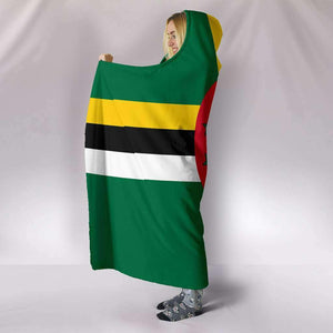 Dominica Pride Hooded Blanket - Island Pride Prints