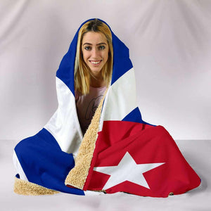 Cuba Flag Hooded Blanket - Island Pride Prints