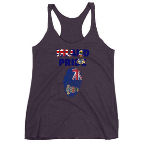 Cayman Islands Women's Racerback Tank - Island Pride Prints