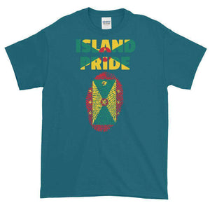 Grenada Pride Multi Color Short-Sleeve T-Shirt - Island Pride Prints