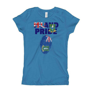 British Virgin Islands Pride Girl's T-Shirt - Island Pride Prints