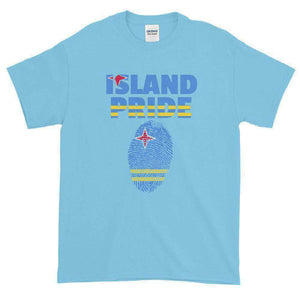 Aruba Pride Multi Color Short-Sleeve T-Shirt - Island Pride Prints