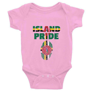 Dominica Pride Infant Bodysuit - Island Pride Prints
