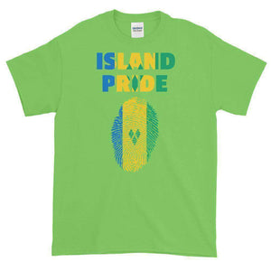 St.Vincent and the Grenadines Multi Color Short-Sleeve T-Shirt - Island Pride Prints