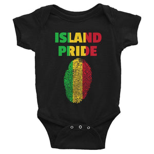 Ice Gold & Green Infant Bodysuit - Island Pride Prints