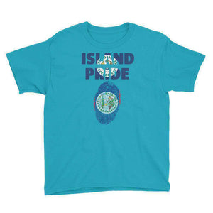 Belize Pride Youth Short Sleeve T-Shirt - Island Pride Prints