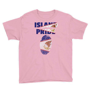 America Samoa Youth Short Sleeve T-Shirt - Island Pride Prints
