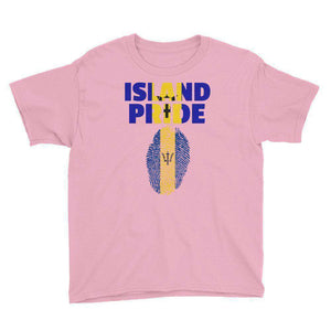 Barbados Pride Youth Short Sleeve T-Shirt - Island Pride Prints