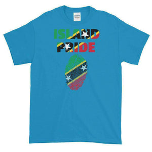 St.Kitts & Nevis Multi Color Short-Sleeve T-Shirt - Island Pride Prints