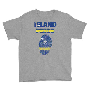 Curacao Pride Youth Short Sleeve T-Shirt - Island Pride Prints