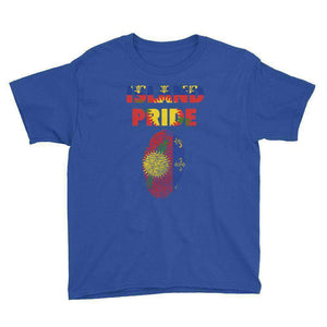Guadeloupe Pride Youth Short Sleeve T-Shirt - Island Pride Prints
