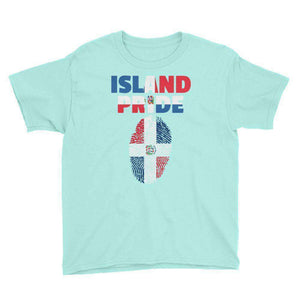 Dominican Republic Pride Youth Short Sleeve T-Shirt - Island Pride Prints