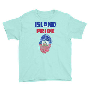 Haiti Pride Youth Short Sleeve T-Shirt - Island Pride Prints