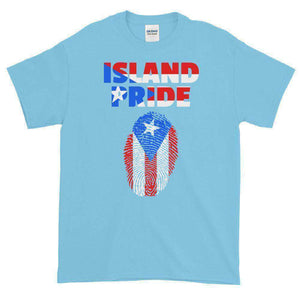 Puerto Rico Pride Multi Color Short-Sleeve T-Shirt - Island Pride Prints