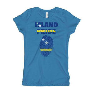 Curacao Girl's T-Shirt - Island Pride Prints