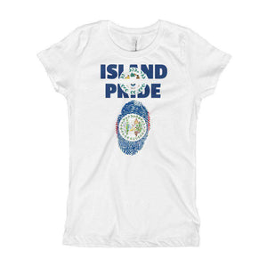 Belize Pride Girl's T-Shirt - Island Pride Prints