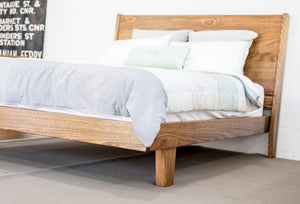 Grace Bed Recycled Messmate | Queen/King Size