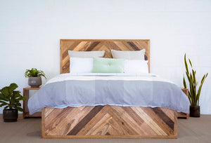 Herringbone Scatter Bed | Queen/King Size